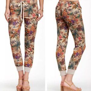 MOTHER floral trackpant